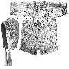 Thumbnail Bonnie Baby Sweater and Bonnet 1916 Crochet Pattern